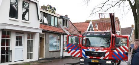 Derde brand in bijna drie jaar bij pizzeria op Urk