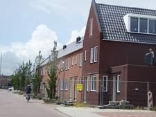 Eerste rij huizen Centrumkade bijna klaar