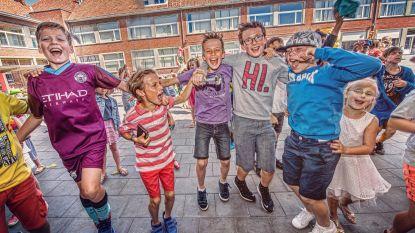 IN BEELD. De Boomgaard sluit schooljaar af zoals Qmusic, met foute fuif