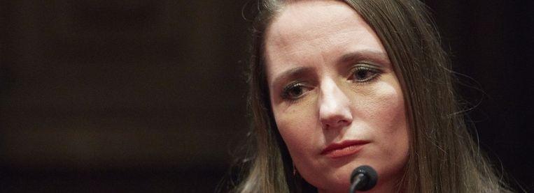 Agema in een verkiezingsdebat Beeld Martijn Beekman, de Volkskrant