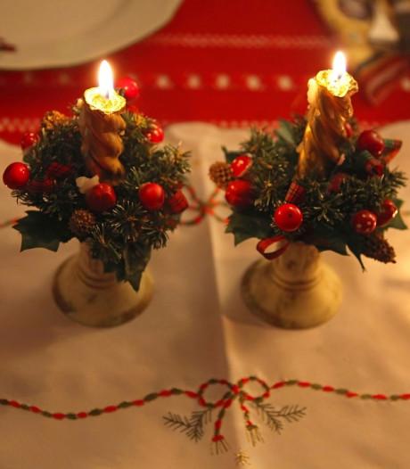 Kerstviering religieuze bieb Spoordonk