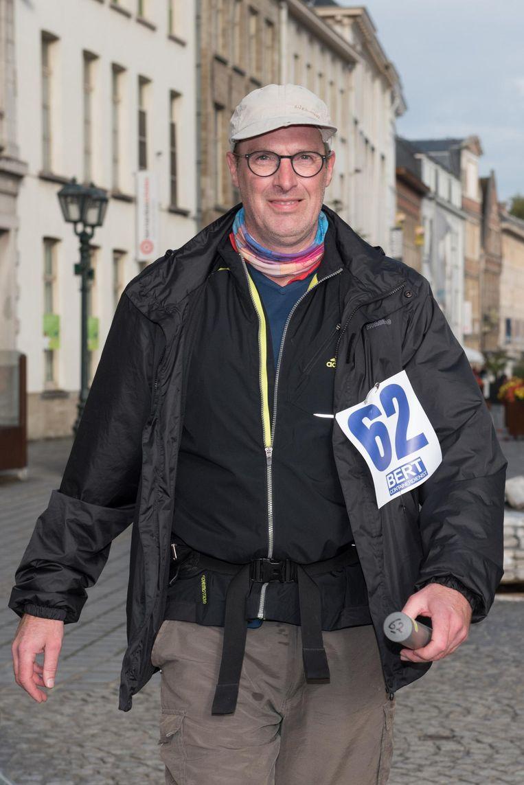 Jan Van Haver (53) stapte 24 uur lang in zijn eentje.