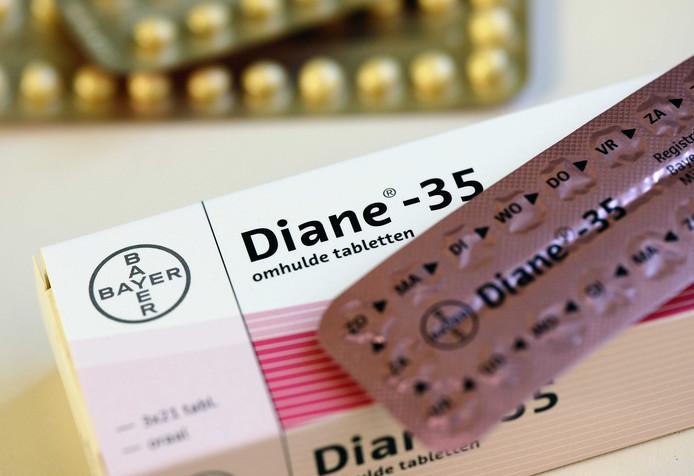 De omstreden pil Diane-35.