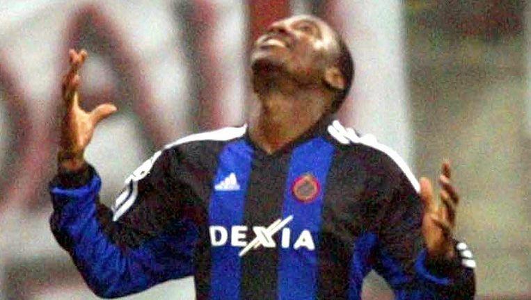 Mendoza na zijn winner in San Siro in de Champions League in 2003.