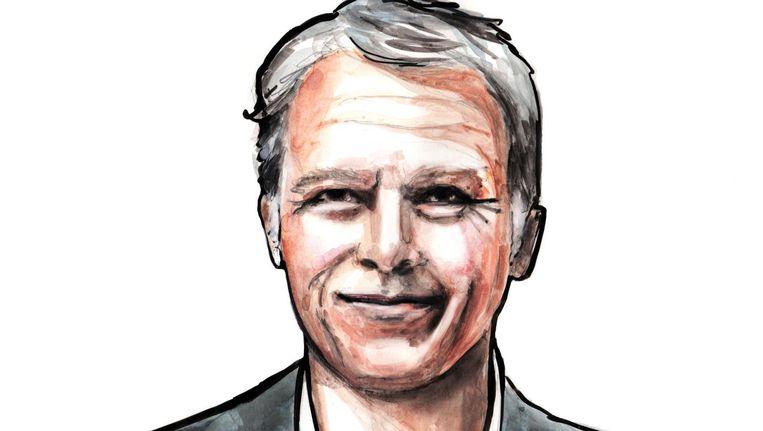 Wouter Bos bleek met 14,3% van de stemmen de populairste kandidaat voor het burgemeesterschap onder Amsterdammers. Beeld Sjoukje Bierma