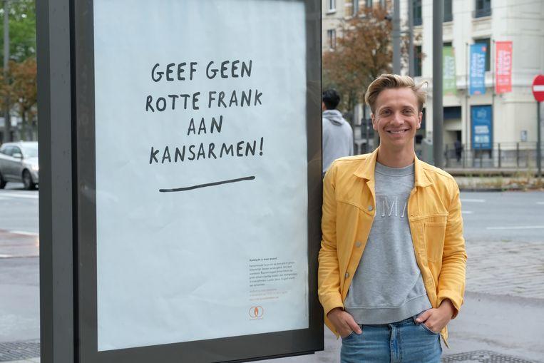 Bapiste Vuylsteke stelde zich kandidaat als buddy.