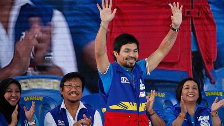 Manny Pacquiao Beeld