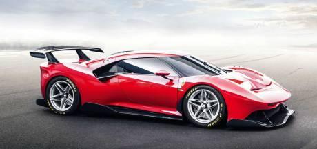 Van deze peperdure race-Ferrari wordt slechts één exemplaar gemaakt en je mag er niet eens de weg mee op