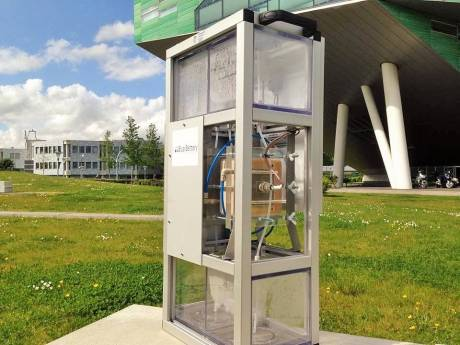Delftse AquaBattery maakt kans op prijs