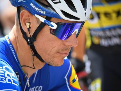 Gilbert ontgoocheld over zijn afwezigheid in Tour-selectie Quick-Step