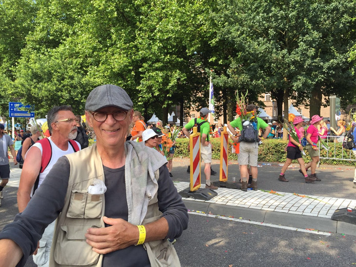 Peter de Krom uit Breda (57) heeft de 40km afgerond.