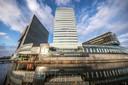 De IJsseltoren van Zwolle, het hoogste gebouw van de stad.