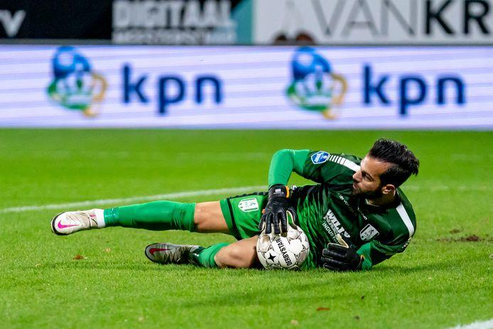 Kostas Lamprou, de doelman met de meeste reddingen in de eredivisie.