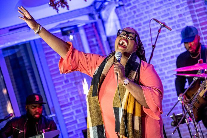 Shirma Rouse op de 42e editie van het Amersfoortze Jazz.