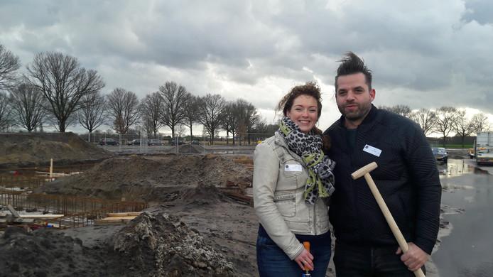 Daisy en Menno Vlek 'emigreren' vanuit de Randstad naar Heeze