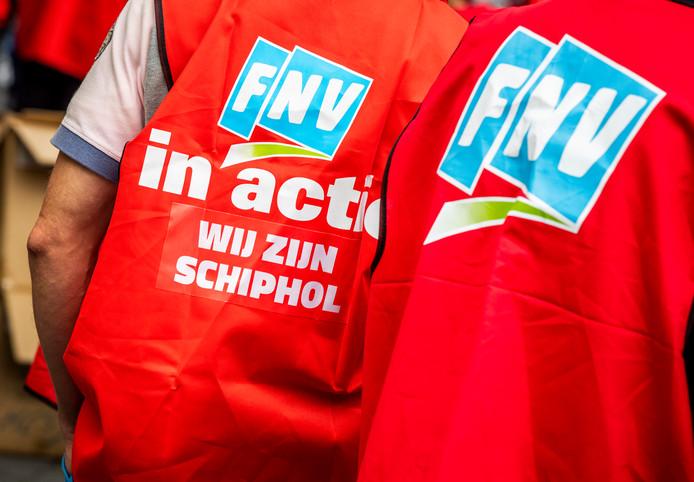 Vakbond FNV heeft acties aangekondigd voor komende donderdag en de twee donderdagen daarna.