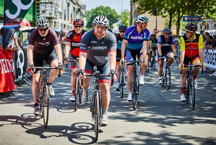 Vorig jaar is op Katendrecht in Rotterdam al een dikke mannen race gereden.