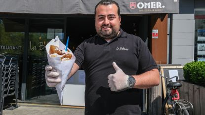"""Restaurant op Grote Markt in Kortrijk start take-away met oliebollen: """"We brengen sfeer"""""""
