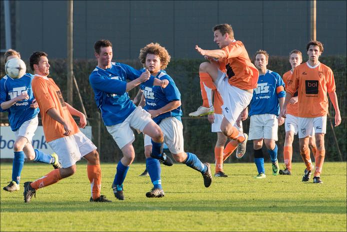 Archiefbeeld van Sambeek, in Rijkevoort tegen Toxandria vorig seizoen.