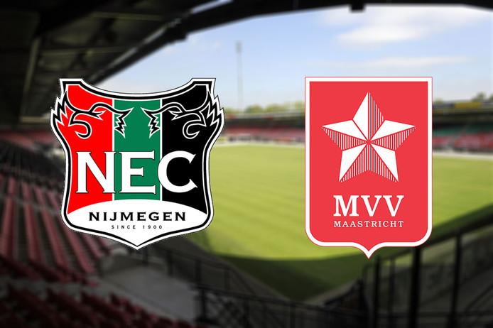 NEC - MVV, vrijdagavond om 20.00 uur in De Goffert.