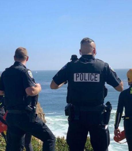 Un voleur de voiture se jette d'une falaise à pleine vitesse en tentant d'échapper à la police