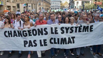 Tienduizenden betogen in Frankrijk voor het klimaat, ook 100 deelnemers aan mars in Namen