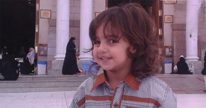 De 6-jarige Zakaria Al-Jaber