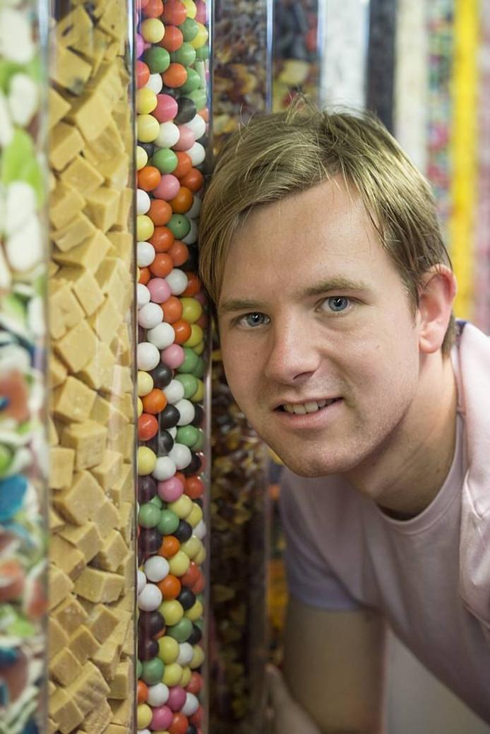 Lars Hobma wil een snoepwinkel beginnen in de wijk Haagse Beemden