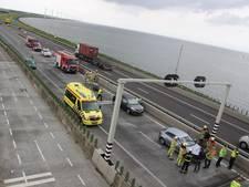 A6 bij Ketelbrug weer open na ongeluk met motorrijder