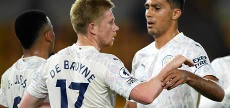 Manchester City commence bien la saison, De Bruyne déjà buteur