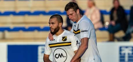 NAC oefent achter gesloten deuren tegen AA Gent, eindstand: 2-2