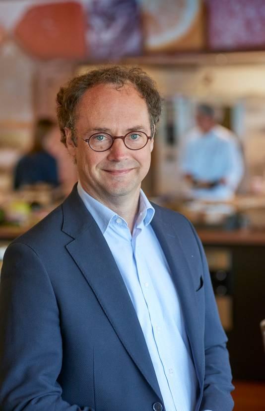 Directeur Willem de Boer van Maison van den Boer. Hij is sinds maart actief bij de Veghelse cateraar.