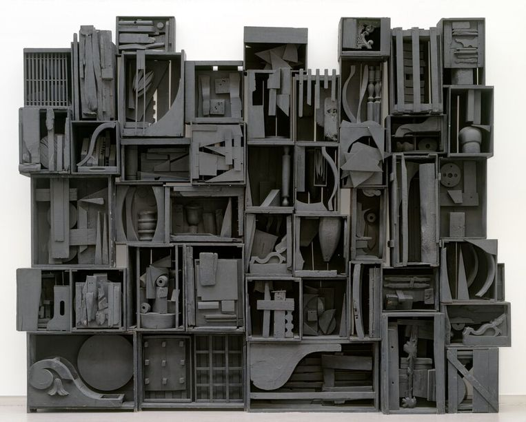 Louise Nevelson: Sky Cathedral III (1959). Beeld Cary Markerink