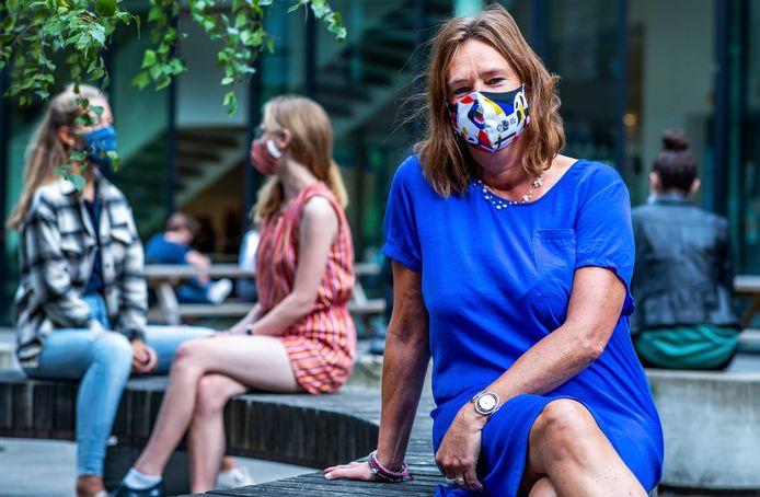Yolanda Petermeijer: ,,We kijken nu hoe we de omschakeling naar online lessen weer breder in kunnen zetten, voor het geval er meer zieken komen.''