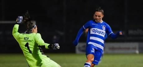 PEC Zwolle Vrouwen zijn nog niet in staat om Ajax te laten schrikken