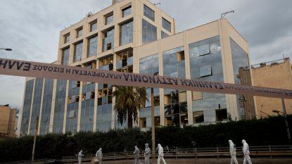 Zware explosie bij Griekse nieuwszender, geen gewonden