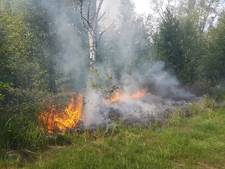 Brand in Nederland geblust