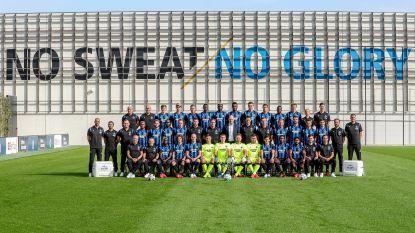 Een opvallende afwezige op ploegfoto Club Brugge, Fadiga definitief naar Heracles