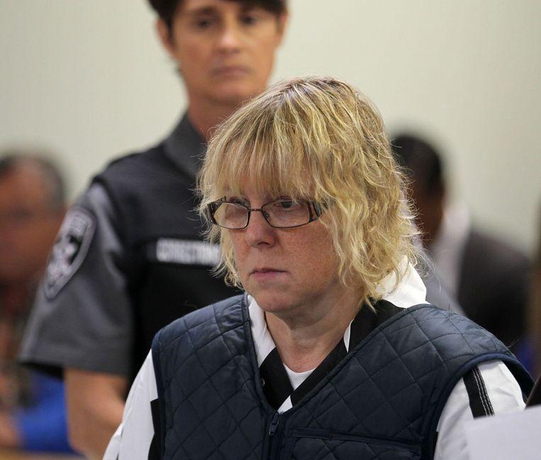 Joyce Mitchell hielp twee gevangenen ontsnappen.