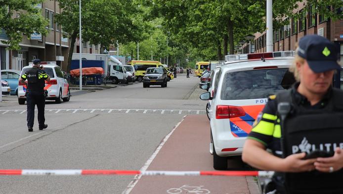 schietpartij in Leiden