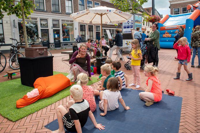 De Vestingfeesten vinden deze zomer in kleine vorm doorgang in Steenwijk. Onder andere met activiteiten voor kinderen.