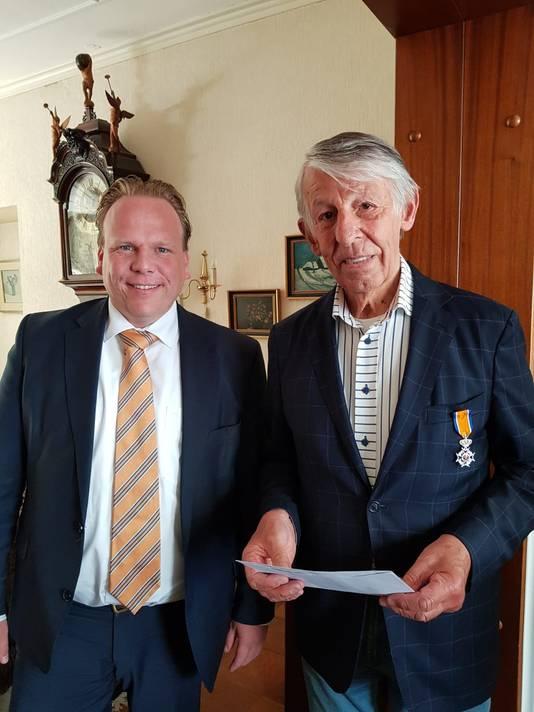 Jan Barel (80, Zevenbergen) - Lid in de Orde van Oranje-Nassau
