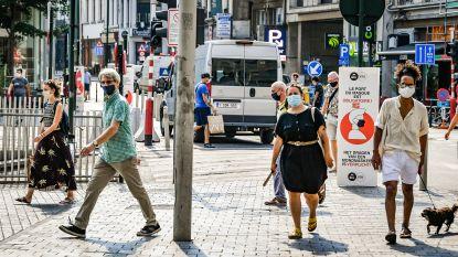 Dan toch niet langer mondmasker verplicht wanneer je in Brussel fietst of met step rijdt
