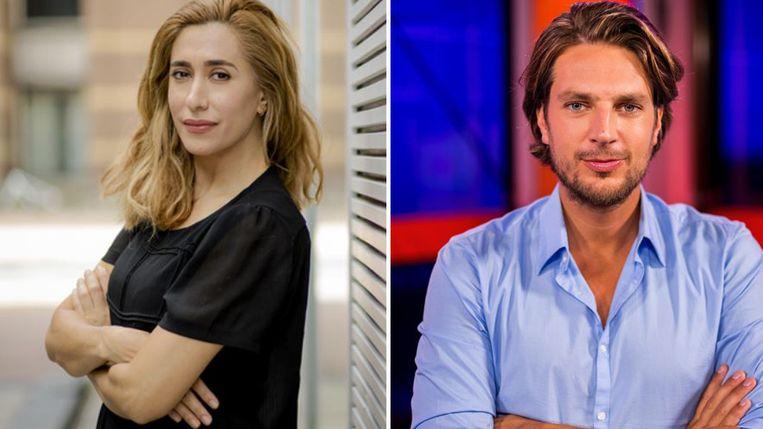 Fidan en Renze vormen het nieuwe duo. Beeld ANP/ Tom Cornelissen