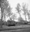 Tanks in de Peel tijdens WO II.