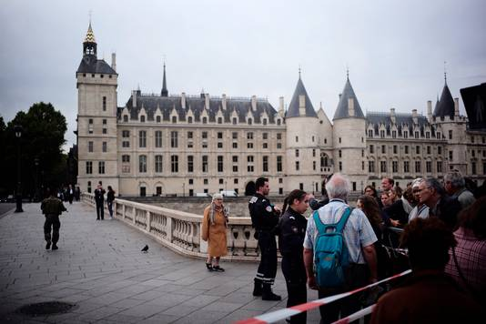 Steekpartij Parijs