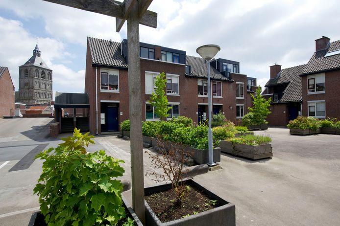 WBO Wonen biedt op het dak van winkelcentrum In den Vijfhoek veel woningen aan voor jongeren en starters.