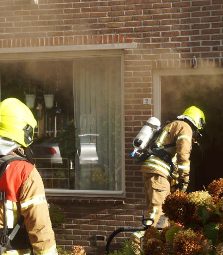 Brand in woning door kortsluiting in de meterkast