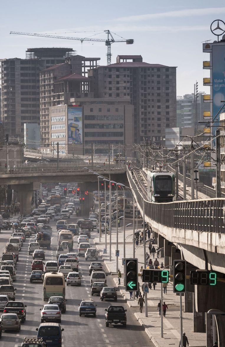 Addis Abeba, hoofdstad van Ethiopië. Beeld  Petterik Wiggers - HH