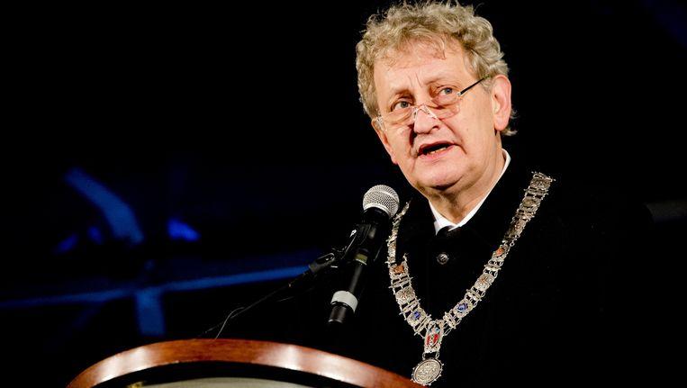 Burgemeester Eberhard van der Laan van Amsterdam. Beeld ANP